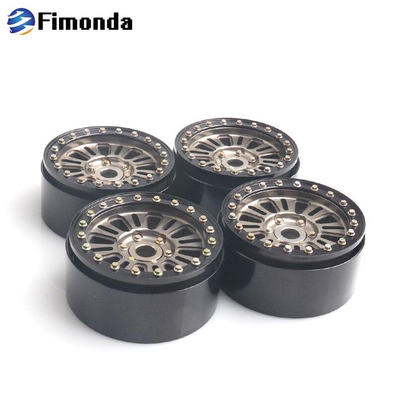 4Pcs Metal Alloy 1.9 Inch Beadlock Wheel Rim for 1/10 RC Crawler Axial SCX10 Traxxas TRX4 TAMIYA TF2 CC01 D90 D1104Pcs Metal Alloy 1.9 Inch Beadlock Wheel Rim for 1/10 RC Crawler Axial SCX10 Traxxas TRX4 TAMIYA TF2 CC01 D90 D110