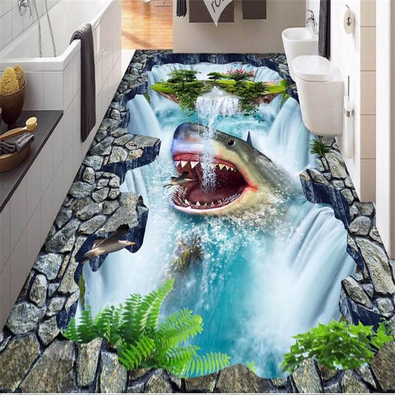 Beibehang 3d Wall Panel 3d Flooring Self Adhesive