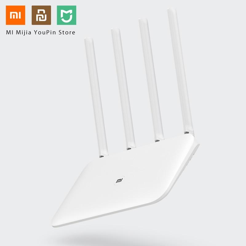 Original Xiaomi Mi WiFi Router 4 WiFi Repeater APP Control 2 4G 5GHz 128MB DDR3 1200