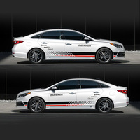 TAIYAO Car Styling Sport Car Sticker For Hyundai Sonata Mark Levinson Car Accessories And Decals Auto