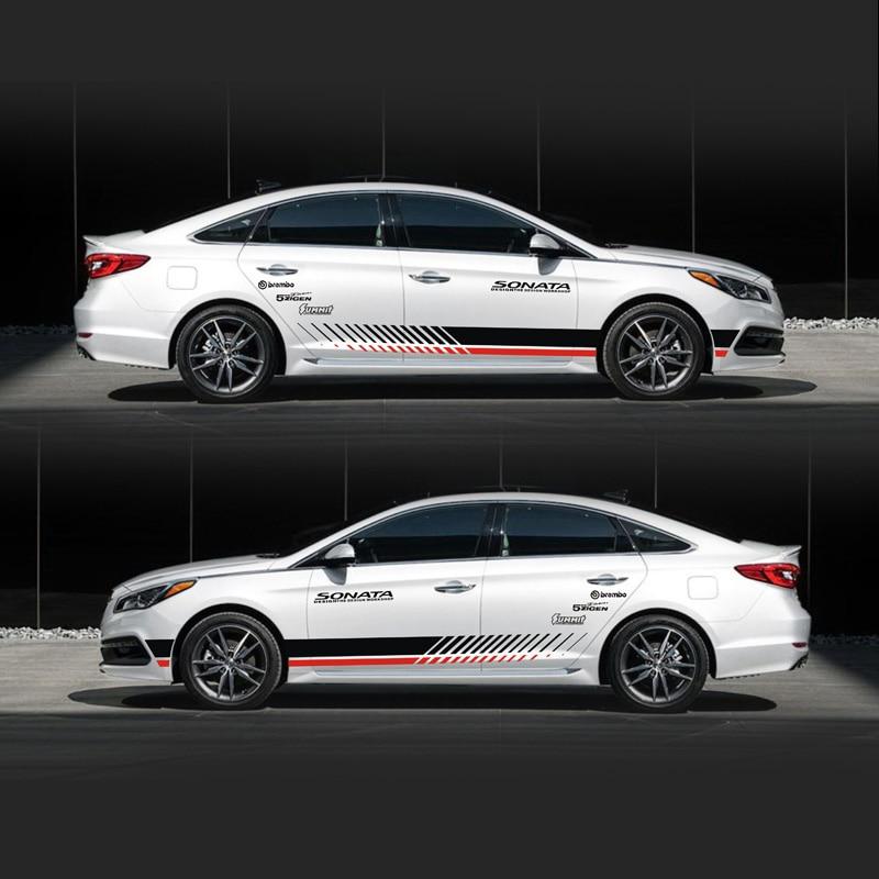 TAIYAO Car Styling Sport Car Sticker For Hyundai Sonata