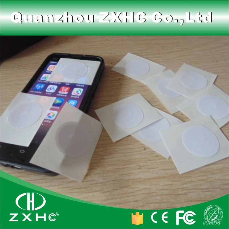 (10pcs/lot) 25mm Diameter NFC Sticker Ntag213 (203) Smart Tags For Samsung Galaxy And Sony All NFC Phones Compatible