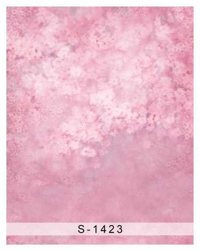 Customize washable wrinkle free pink cheery flowers photography backdrops for newborn photo studio portrait backgrounds S-1423 customize washable wrinkle free baby clock pink wall photography backdrops for newborn photo studio portrait backgrounds s 956