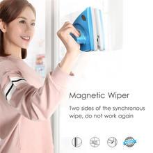 ハンドヘルド両面磁気窓ガラスクリーニングブラシため洗濯窓クリーナーガラス表面浴室キッチン