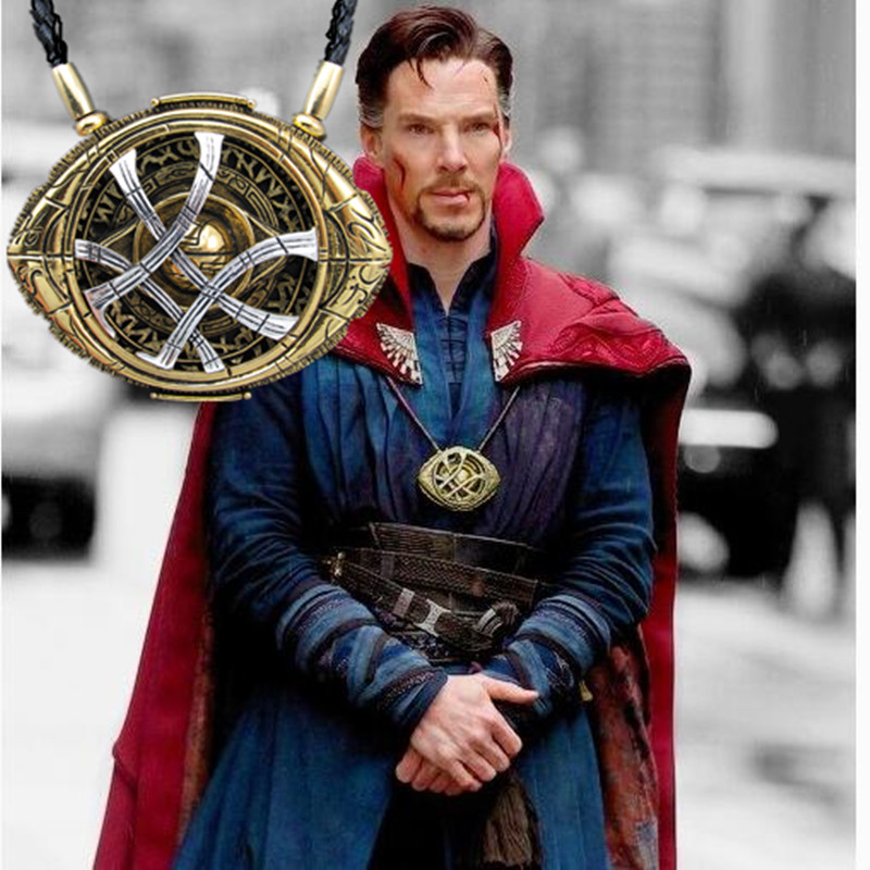 Cosplay Doctor Strange Necklaces  Christmas gift Alloy Necklaces Agamotto 1