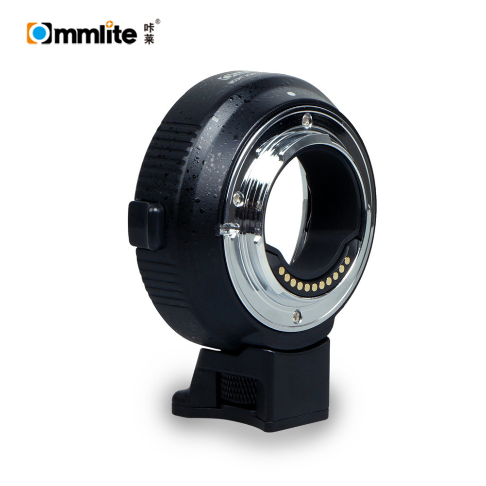 Commlite Camera Lens Adapter CM-AEF-MFT Autofocus For Canon EF / EF-S Lens to For Panasonic LUMIX OLYMPUS M4 / 3 Lens Adapter fotga konica ar lens to panasonic olympus m4 3 adapter ring black