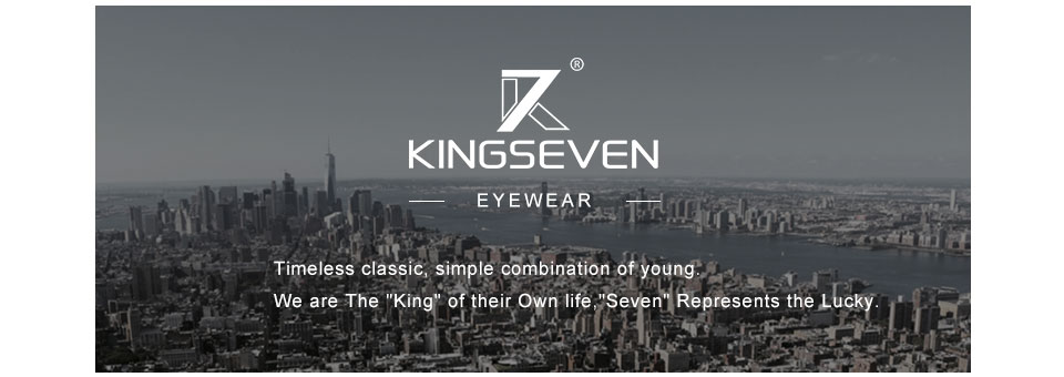 KINGSEVEN Brand Design Fashion Aluminum Magnesium Sunglasses Men Polarized Driving Eyewear For Men UV400 Oculos N7021