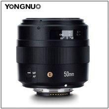 YONGNUO YN50MM 50 มิลลิเมตร F1.4N F1.4 E Standard Prime เลนส์ AF/MF สำหรับ Nikon D7500 D7200 D7100 D7000 D5600 d5500 D5300 D5200 D5100
