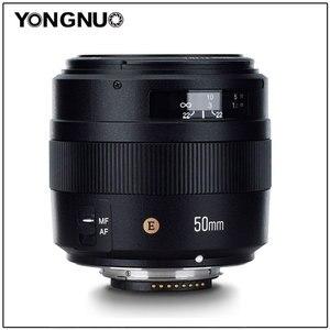 Image 1 - Объектив YONGNUO YN50MM 50 мм F1.4N F1.4 E Standard Prime, AF/MF для Nikon D7500 D7200 D7100 D7000 D5600 D5500 D5300 D5200 D5100