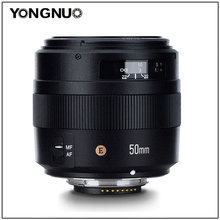YONGNUO YN50MM 50 MM F1.4N F1.4 E 표준 프라임 렌즈 AF/MF Nikon D7500 D7200 D7100 D7000 D5600 D5500 D5300 D5200 D5100