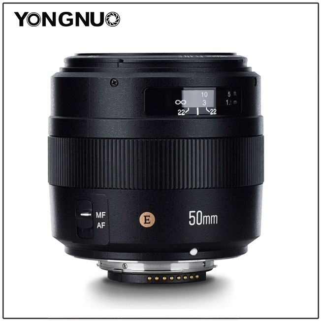 YONGNUO YN50MM 50 MM F1.4N F1.4 E Standard Objectif AF/MF pour Nikon D7500 D7200 D7100 D7000 D5600 D5500 D5300 D5200 D5100YONGNUO YN50MM 50 MM F1.4N F1.4 E Standard Objectif AF/MF pour Nikon D7500 D7200 D7100 D7000 D5600 D5500 D5300 D5200 D5100