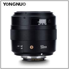 YONGNUO – lentille frontale AF/MF Standard yn50 MM 50MM F1.4N F1.4 E pour Nikon D7500 D7200 D7100 D7000 D5600 D5500 D5300 D5200 D5100