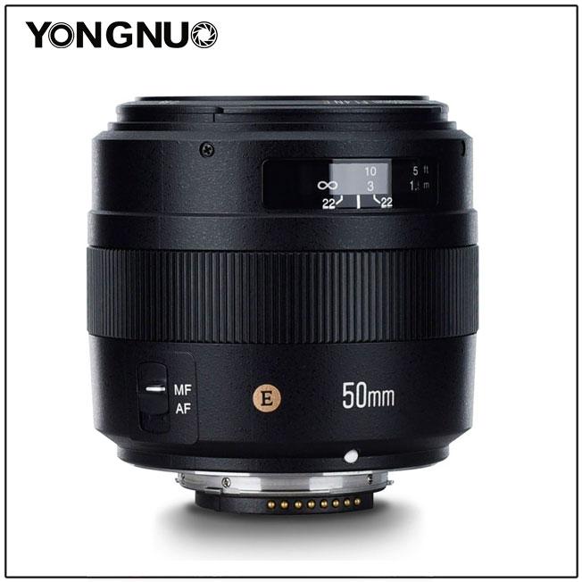 YONGNUO YN50MM 50mm F1 4N F1 4 E Padrão Prime Lens AF/MF para Nikon D7500  D7200 D7100 D7000 D5600 d5500 D5300 D5200 D5100