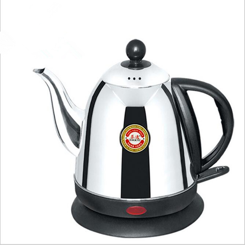 220V/1000W Stainless Steel 1L/1.2L/1.5L Electric Heating Kettle Anti Burning And Safety Auto-Off Function Quick Heating Kettle cukyi stainless steel 1800w electric kettle household 2l safety auto off function quick heating red gold