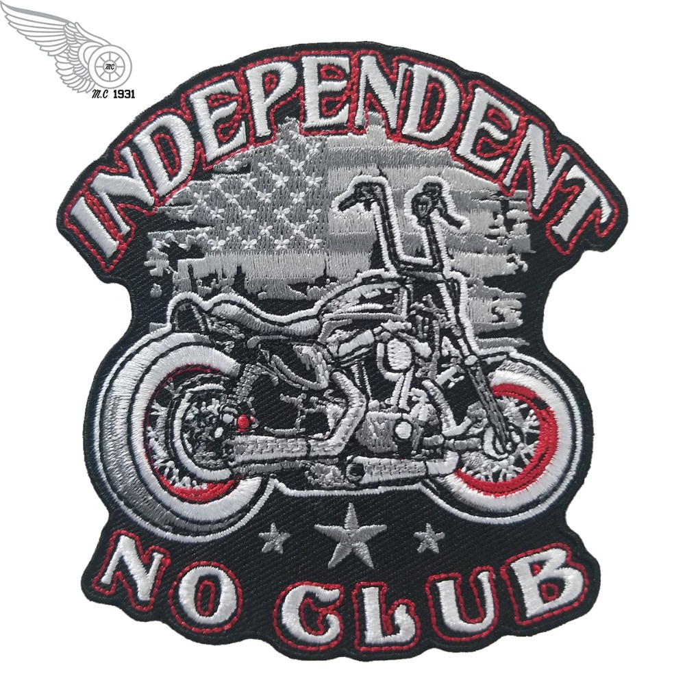 INDEPENDENT NO CLUB PATCHES