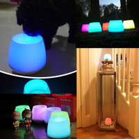 PLAYBULB Candle MIPOW Aromatic Smart Nightlight Wireless APP Control Color Changing Group Link For Home Decoration