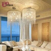 new modern large crystal chandelier living lights Dia70*H80cm modern home lighting