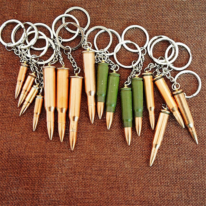 Bullet keychains (2)