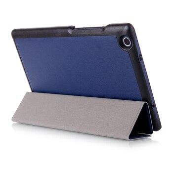 Магнитная Искусственная кожа чехол для 2016 lenovo Tab 3 8,0 850F/M TB3-850M TB-850M Tab3-850 ультра тонкий чехол защитный чехол >> Ereader&Tablet accessory