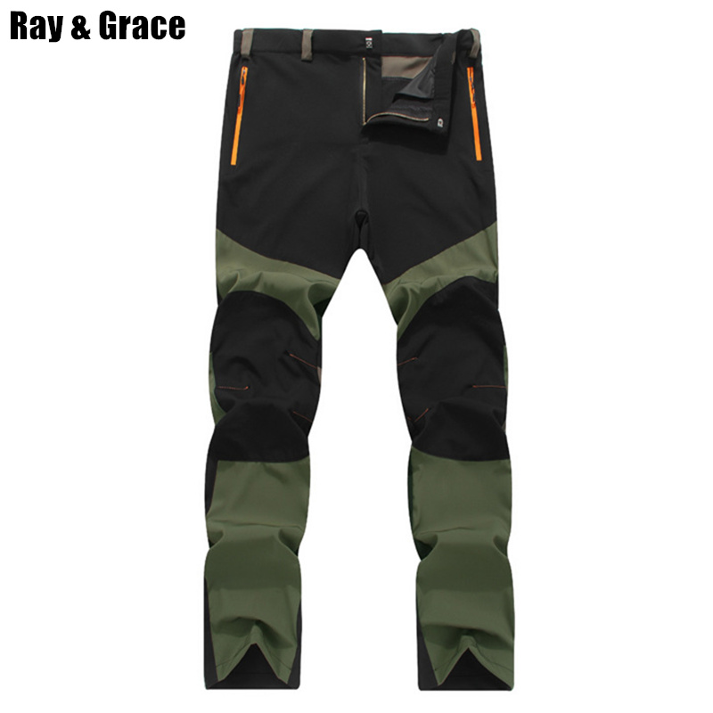 RAY GRACE Summer Breathable Outdoor Pants Men Trekking Climbing Hiking Camping Sports Trousers Mens Light Weight Quick Dry PantsRAY GRACE Summer Breathable Outdoor Pants Men Trekking Climbing Hiking Camping Sports Trousers Mens Light Weight Quick Dry Pants