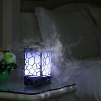 GXZ 200ml Water Cube Aroma Diffuser Essential Oil Night Lights Ultrasonic Air Humidifier Mist Maker Mini