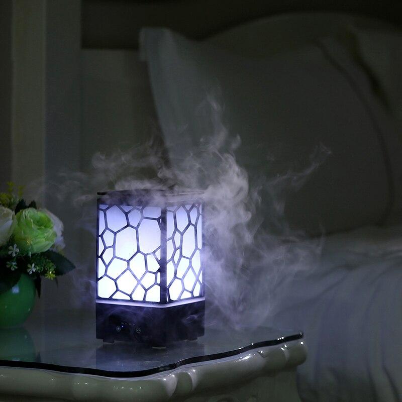 GXZ 200ml Water Cube Aroma Diffuser Essential Oil Night Lights Ultrasonic Air Humidifier Mist Maker Mini Home Air Purifier нивелир ada cube 2 360 home edition a00448