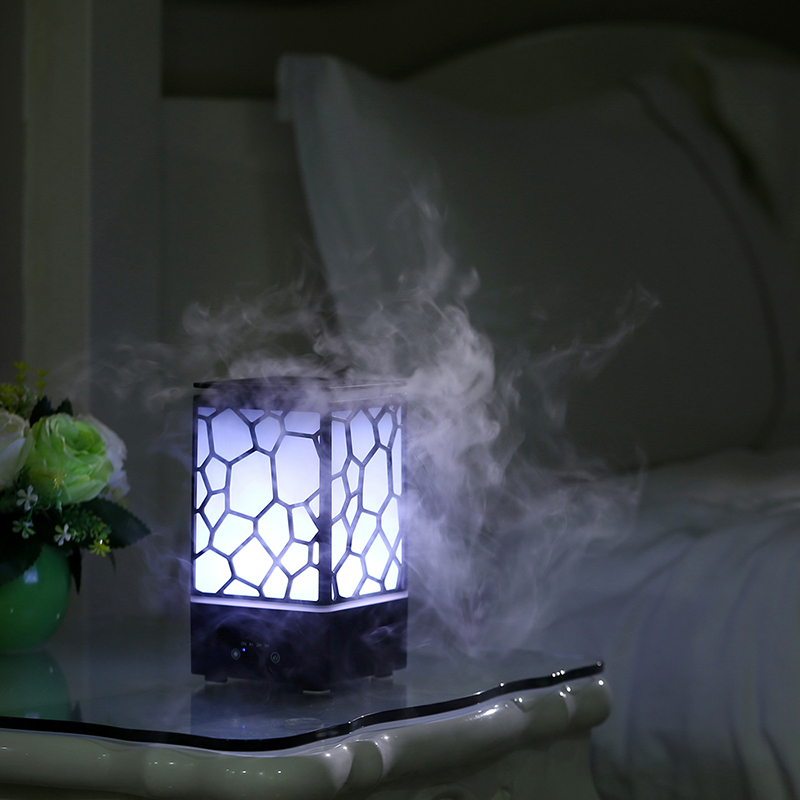 GXZ Water Cube Aroma Diffuser Essential Oil LED Lights Ultrasonic Air Humidifier Mist Maker Mini Home Air Purifier gxz 500ml aroma diffuser bluetooth speaker ultrasonic night lights air humidifier timing mist maker mini desktop air purifier