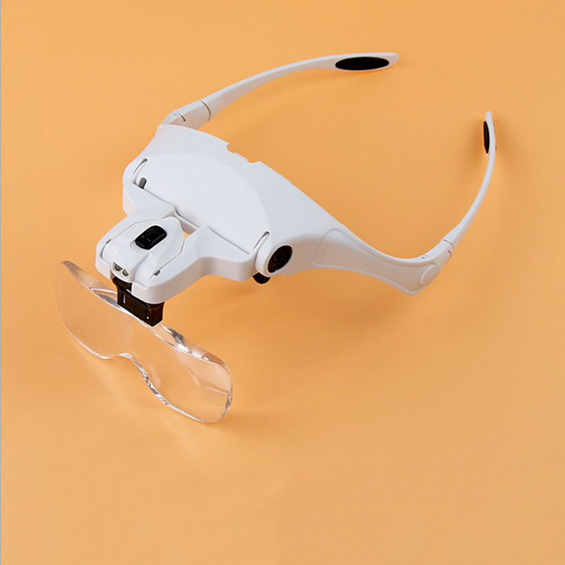 Model Making Tool With A Magnifying Glass 1.0 X/1 .5 X/2 .0 X/2 .5 X/3 .5 X With LED Light