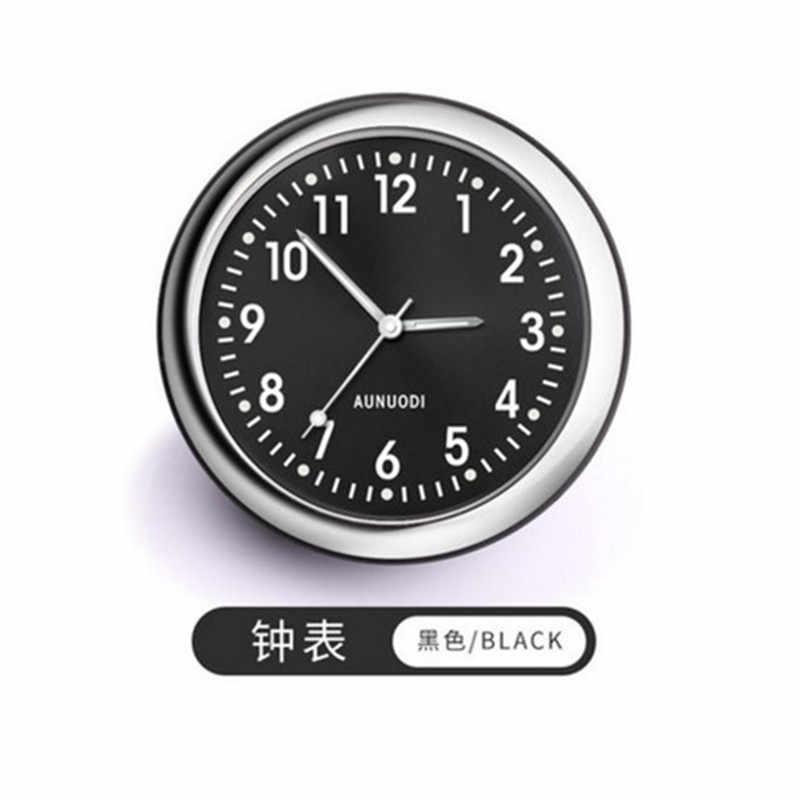 Светящиеся автомобильные часы автоматический электронный счетчик кварцевые часы термометр таймер выход освежитель воздуха авто интерьер орнамент Стайлинг