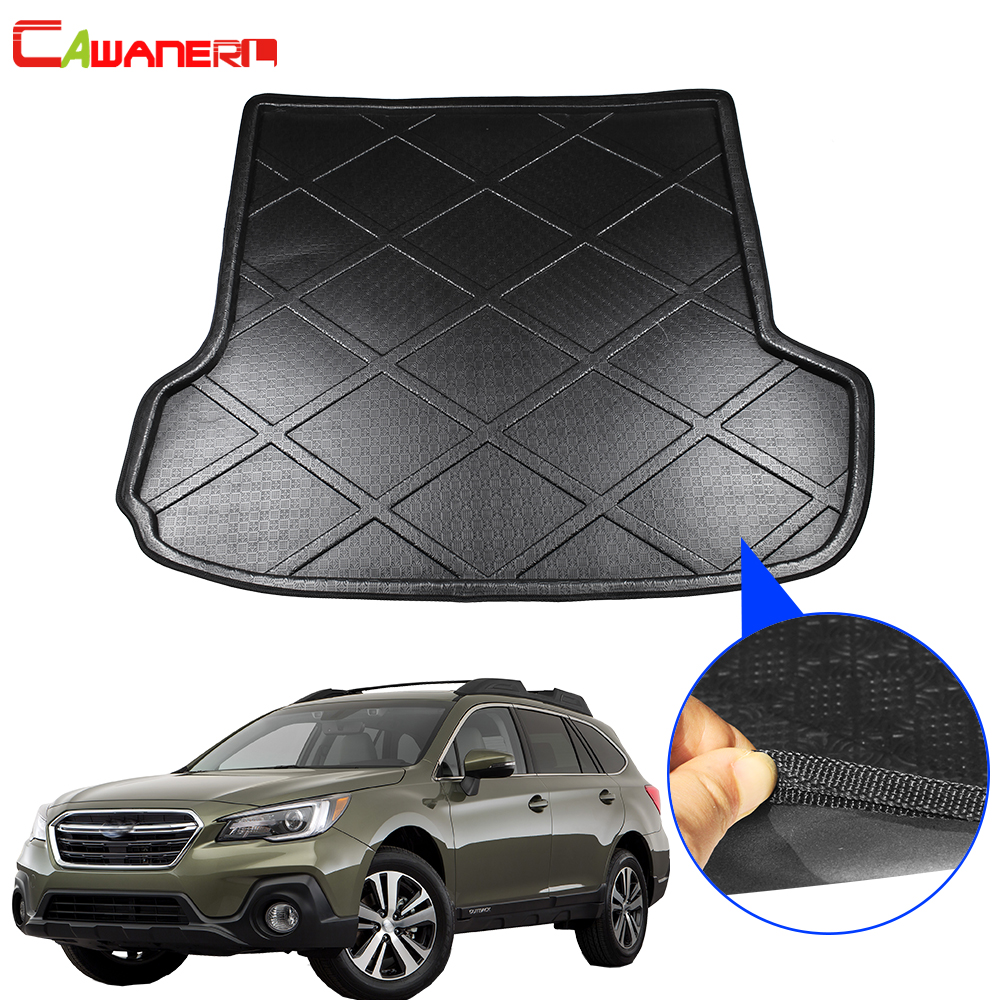 Cawanerl Car Boot Tray Liner Tail Trunk Mat Floor Cargo Kick Carpet Luggage Pad Accessories For Subaru Outback 2014 2015Cawanerl Car Boot Tray Liner Tail Trunk Mat Floor Cargo Kick Carpet Luggage Pad Accessories For Subaru Outback 2014 2015