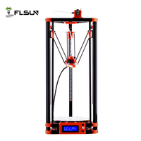 FLSUN Delta 3D Printer, Large Print Size 240*285mm 3d Printer Pulley Version Linear Guide Kossel Large Print Size auto leveling