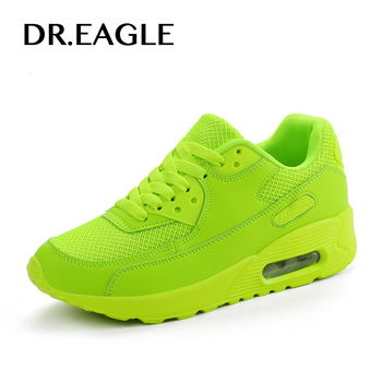 DR.EAGLE 2017 SPORT SHOES WOMAN sneakers red Ladies Running Shoes Air Cushion Outdoor Athletic female shoes sports basket femme