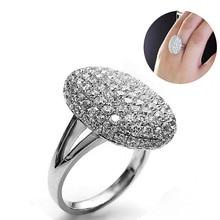 Роскошное серебряное сумеречное Saga Breaking Dawn Bella обручальное кольцо, стразы, инкрустированные кольца, ювелирные изделия для женщин JL