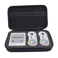 Game Case Bag for Nintend Switch SNES SFC Classic Mini for 2 Controllers Charger HDMI Cable Cover for Nintendo Switch Hard Pouch