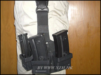 SAFARILAND Style G36 magazine drop leg magazine pouch But with the black hawk sofa orchid all modules in general