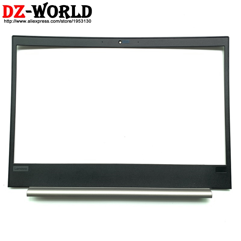 Capable New/orig Silver Laptop Screen Front Shell Lcd Bezel Cover For Lenovo Thinkpad E480 E490 Display Frame Part 01lw156 Ap1166000610 Reliable Performance Laptop Accessories