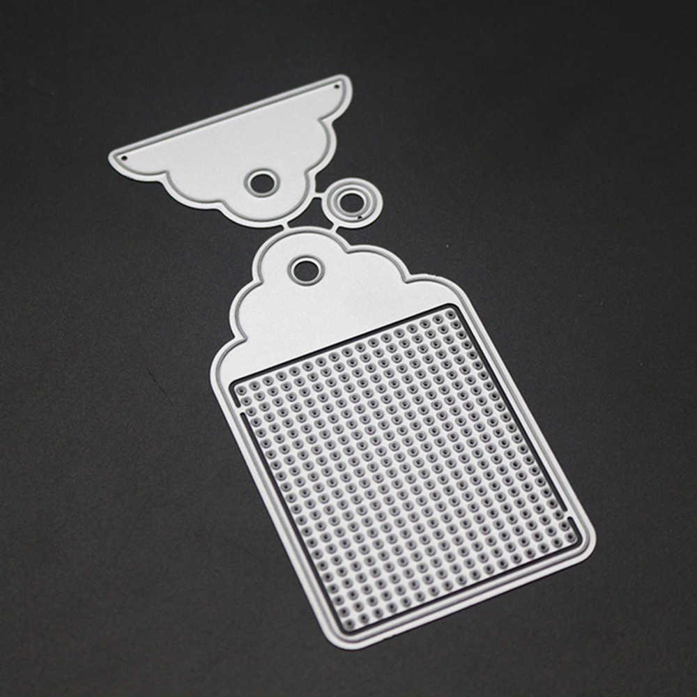 Метка рамка металлические штампы для резки штампы для Embossing тиснения трафареты DIY декоративные карты сделать тиснение трафареты