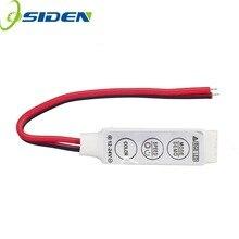 50 ชิ้น Mini RGB Controller 12 โวลต์ 6A 3 ปุ่มสำหรับ 5050 3528 RGB LED Strip Light 19 โหมดแบบไดนามิกและ 20 สีคงที่จัดส่งฟรี