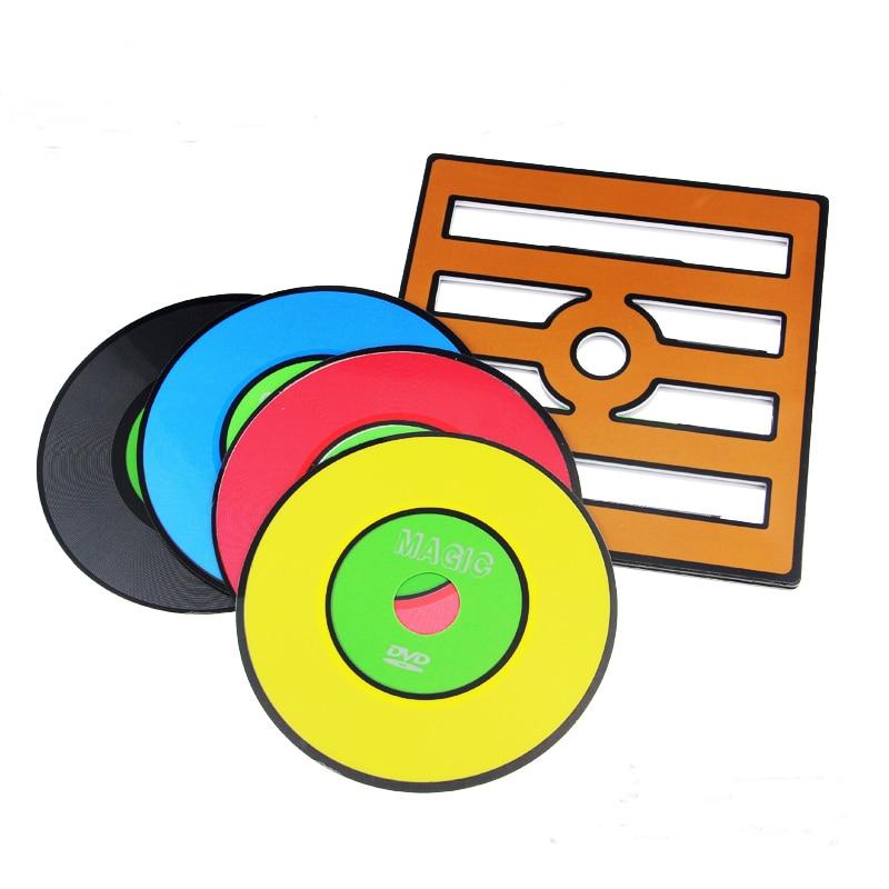 Gratis fraktbytesrekord (PVC-ram + CD-version) magiska tricks magiska rekvisita