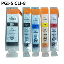Penuh Ink Cartridge PGI-5 CLI-8 untuk Canon PIXMA IP4200 IP4300 IP4500 MP500 IP5200 MP530 MP600 MP610 MP800 MP810 MP830 Printer(China)