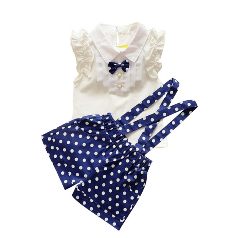 Hot Sale Summer Baby girl clothes set clothes childern girl short pants + t-shirt 2 pcs Kids fashion clothes set