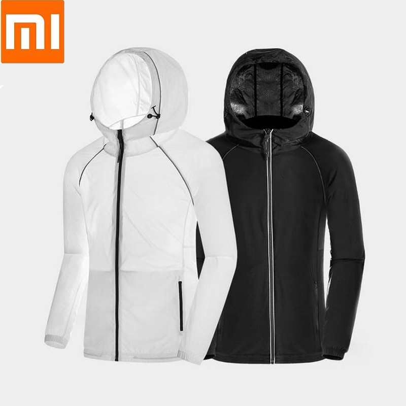 Xiaomi ULEEMARK Lightweight sun protection clothing male Waterproof and breathable clothing for men Reflective design