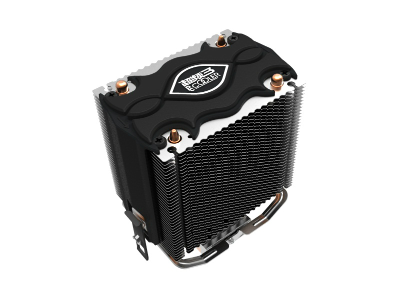 PcCooler  CPU cooler  radiato 2 heatpipes 80mm 12V fan for Intel LGA 775/1155/1156, AMD 754/940/AM2+/AM3/FM1/FM2 CPU cooling pccooler ultra quiet 4pin fan cpu cooler radiator for intel lga 775 1155 1156 2011 amd am2 am3 fm1 am2 939 fans cooling