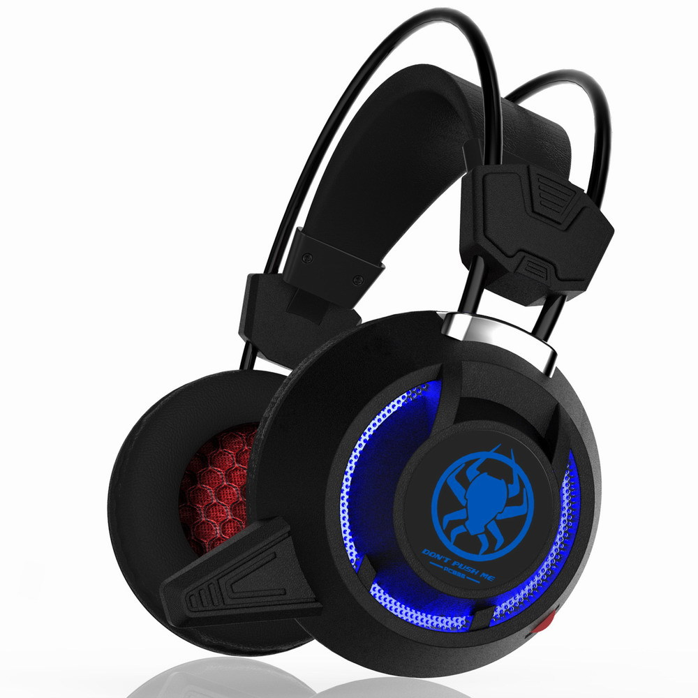 New Gaming Headphone Usb Stereo Headset Vibration System Rotatable Microphone Earphone Mic Led Usb Game Headphones Auriculares stereo system