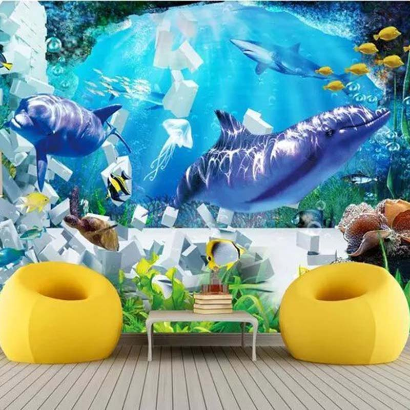Luxury Wallpaper The Underwater World For Walls 3d Wall