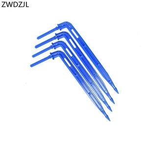 """Image 2 - Garden Irrigation arrow Dripper arrow drip emitter 3/5 hose 1/8"""" micro drip irrigation system water drop garden 25pcs"""