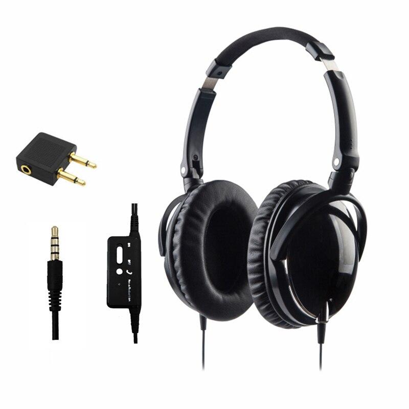 Casque anti bruit actif avec Microphone pliable sur l'oreille casque anti bruit HiFi casque Netsky écouteurs Auriculares-in Écouteurs et casques from Electronique    1