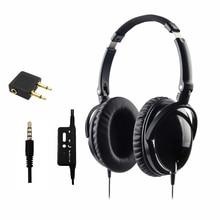 Новые активные Шум Отмена наушники с микрофоном складной за ухо Hi-Fi Шум Изоляция гарнитура netsky наушники Auriculares