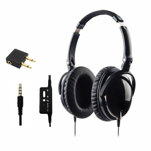 Newest Active Noise Cancelling Headphones With Mic Foldable Over Ear HiFi Noise isolation Headset Netsky Earphone Auriculares
