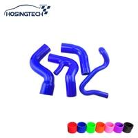 HOSINGTECH for AUDI A4 1.8T/1.8T Quattro B5 Chassis 96 01 silicone turbo hose kit, 4pcs